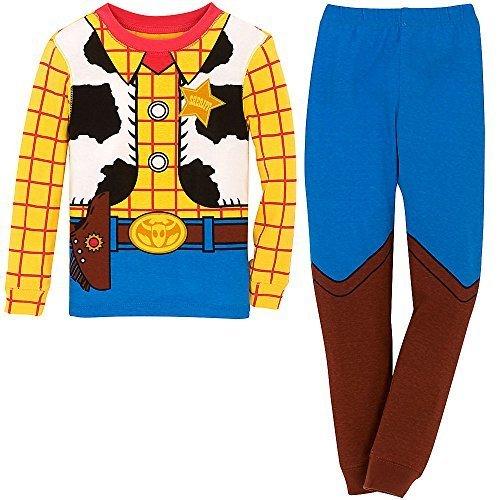 ディズニー (Disney) トイストーリー ウッディ なりきりコスチューム パジャマ 長袖 コスプレ 男の子 子供 キッズ USディズニーストア ( US4歳 100cm ) [並行輸入品],キッズパジャマ,男の子,おすすめ