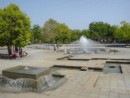 上府中公園の親水広場,公園,水遊び,神奈川