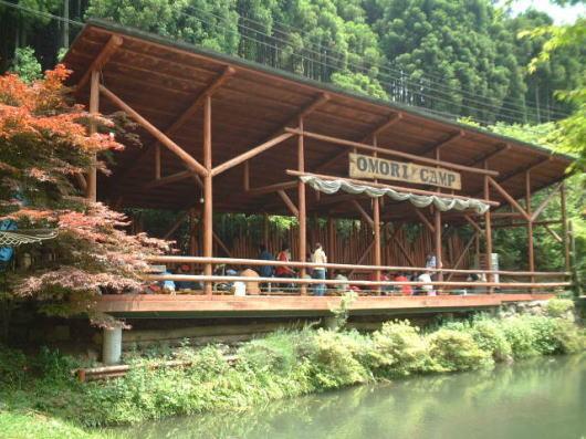 大森リゾートキャンプ場,京都,バーベキュー,雨