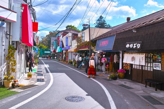 旧軽井沢,クリオフィールド,
