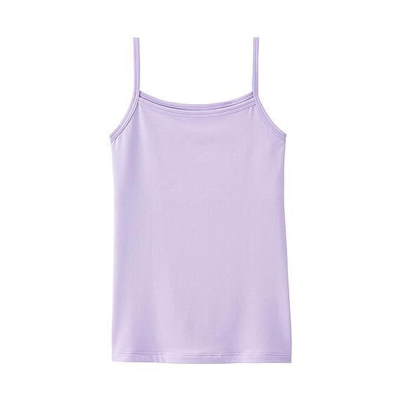 エアリズム胸2重キャミソール|ユニクロ,キッズ,キャミソール,