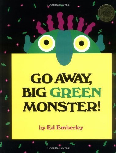 Go Away, Big Green Monster!,ハロウィン,絵本,