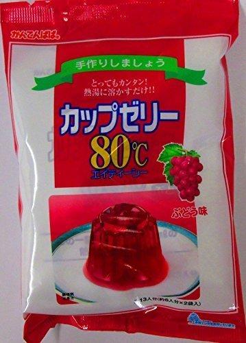 かんてんぱぱ カップゼリー ぶどう味100gX2袋 約6人分x2袋,子ども,おやつ,
