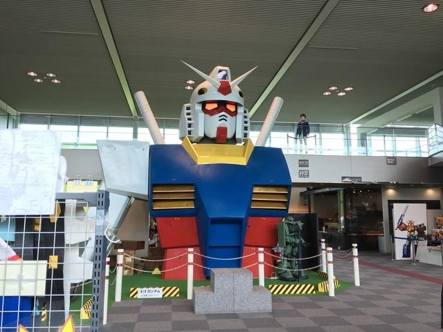原寸大のガンダム,おもちゃのまち,バンダイミュージアム,