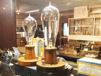 エジソンコレクションの白熱電球,おもちゃのまち,バンダイミュージアム,
