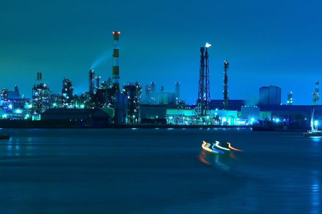 工場夜景,クルージング,誕生日,