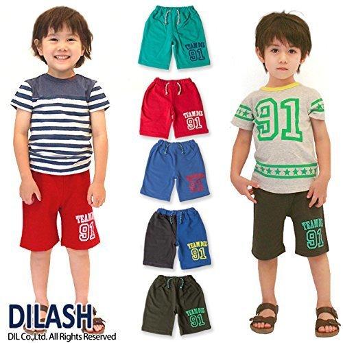 DILASH 盛夏'15 スウェットハーフパンツ(4分丈) ,キッズ,ハーフパンツ,