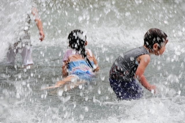水遊び ピクスタ,公園,水遊び,東京