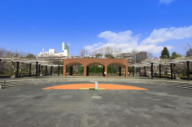 猿江恩賜公園 ピクスタ,公園,水遊び,東京