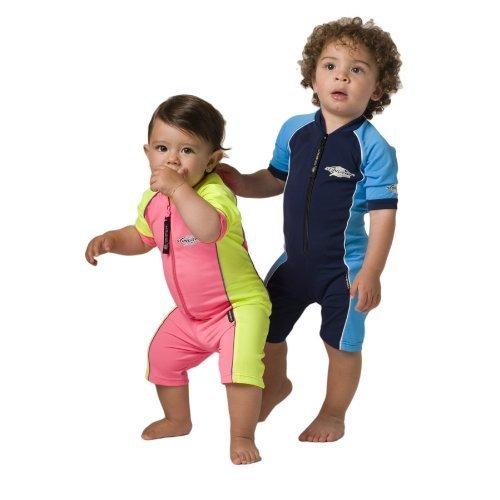 UVカット 水着(ベビー用) - ベビー スイムウェア サイズ:1歳 カラー:オーシャンブルー/ホワイト,ベビー水着,男の子,おすすめ