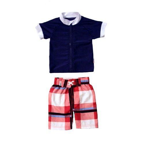 SWIMZIP スイムジップ ラッシュガード水着セット Summer Nights (6-12ヶ月),ベビー水着,男の子,おすすめ