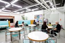 休憩室,科学館,横浜,