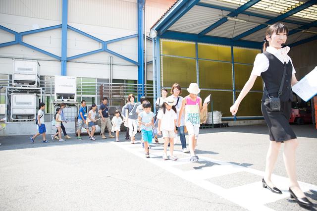 工場見学開始,カルピス,工場見学,関西