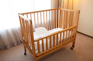 ベビーベッド,東京ドームホテル,宿泊,