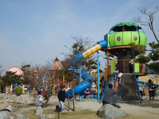 フローラルガーデンよさみ,愛知県,アスレチック,公園
