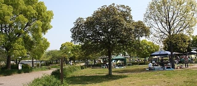 戸田川緑地ピクニック広場バーベキューサービス,愛知,キャンプ場,アウトドア