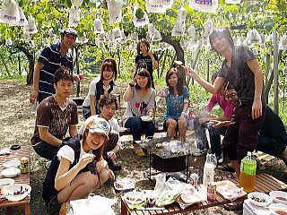 マル京果園バーベキュー,愛知,キャンプ場,アウトドア