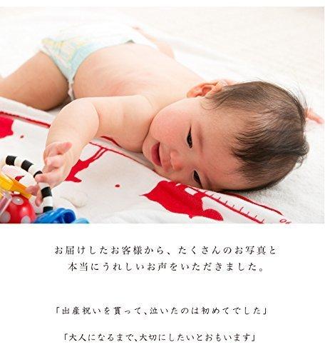 Hajimari(ハジマリ)ガーゼケット・お仕立券 (赤),二人目,出産祝い,男の子