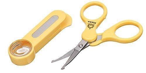 ルーペ付き ベビー爪切りハサミ SAFETY NAIL SCISSORS,赤ちゃん用,爪切り,