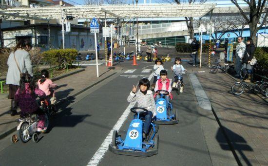 今井児童交通公園,東京,公園,おすすめ