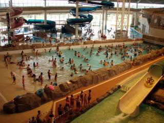 小牧市温水プール 館内の様子,小牧市,温水プール,