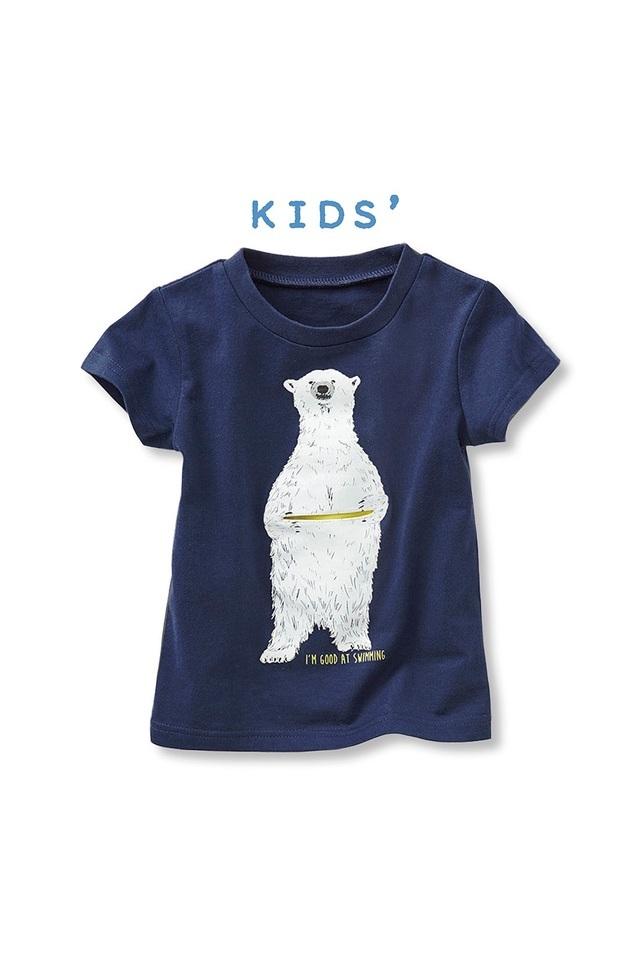 天王寺動物園とコラボ 大人気! ホッキョクグマTシャツ,フェリシモ,通販,雑貨