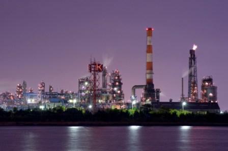 「川崎工場夜景屋形船クルーズ」から見る夜景,川崎,工場夜景,