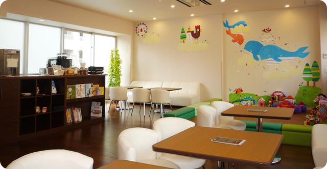 だっこファミリーパティオの店内,錦糸町,カフェ,ランチ