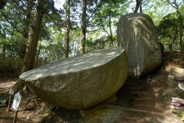 太刀割石,茨城,登山,