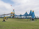 カルチャービレッジ,大型,遊具,公園