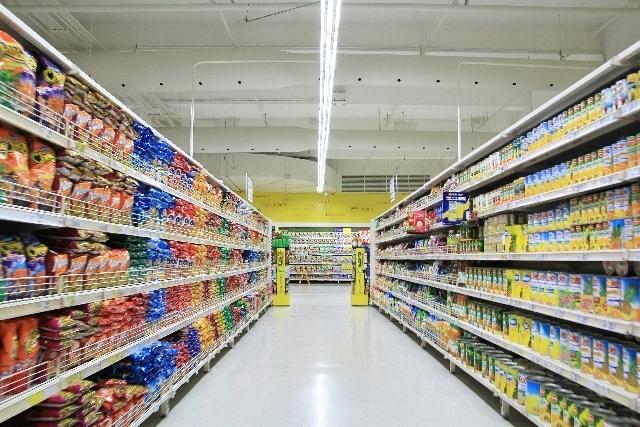 スーパーマーケット,新幹線,お菓子,