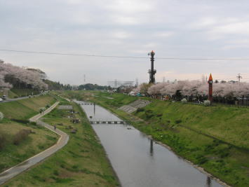 運河水辺公園の光景,工場見学,人気,