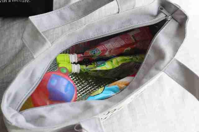 保冷バッグの中,3COINS,収納,