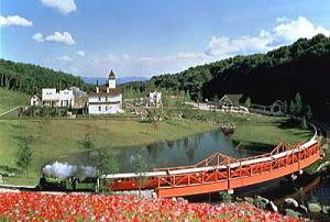 虹の郷のロムニー鉄道,修善寺,虹の郷,水遊び