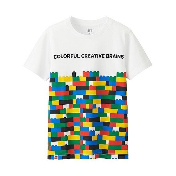 レゴ®グラフィックT,ユニクロ,キッズ,Tシャツ