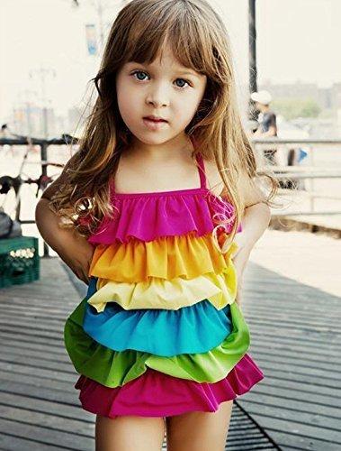 【MINSIO】【バリエーション選択可】 子供用 ( 女の子 ) 水着 / MINSIOオリジナル お花の髪かざり セット 00602M,女の子,子供水着,