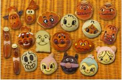 ジャムおじさんのパン工場,キャラクター,かわいい,パン
