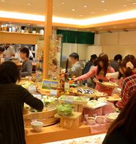 旬菜食健ひな野 二子玉川ライズ・ショッピングセンター店,二子玉川,ランチ,ビュッフェ