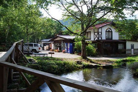 赤倉の森オートキャンプ場,長野県,親子,キャンプ