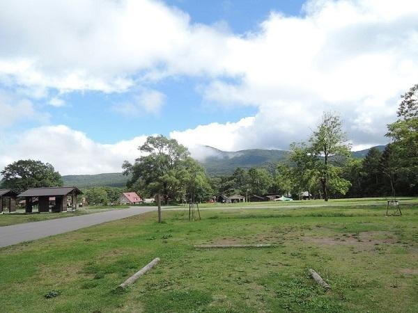 戸隠キャンプ場,長野県,親子,キャンプ