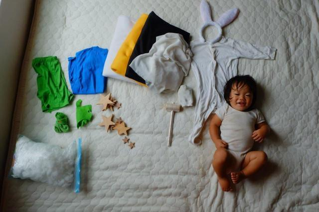 ,寝相アート,赤ちゃん,写真