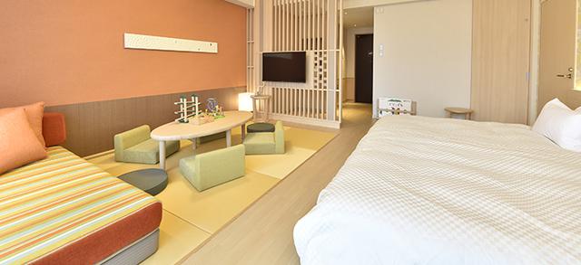 ベッドガードも設置できるので添い寝も安心,沖縄,赤ちゃん,ホテル
