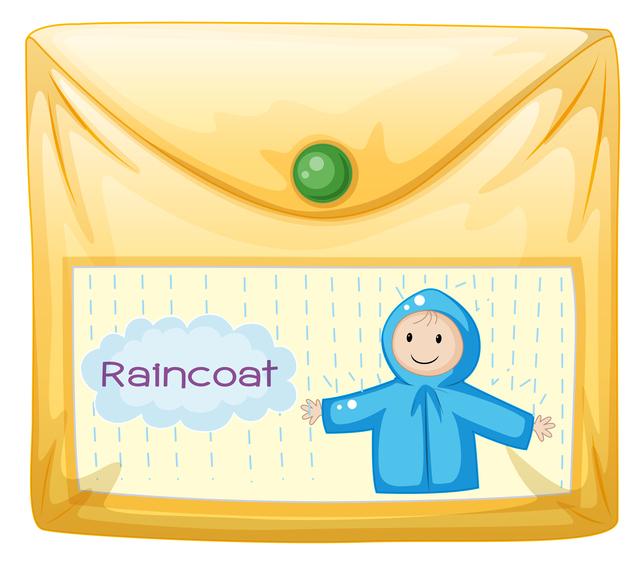 収納袋,子ども,レインコート,選ぶ
