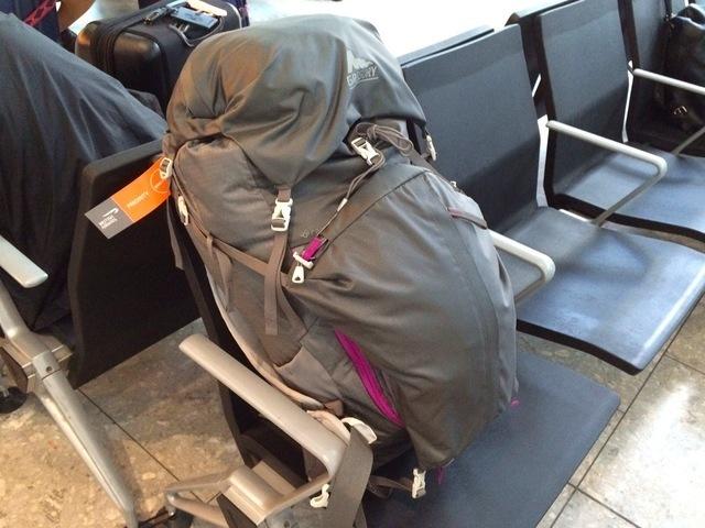 Gregory53litterのバックパック,子連れ,海外,旅行