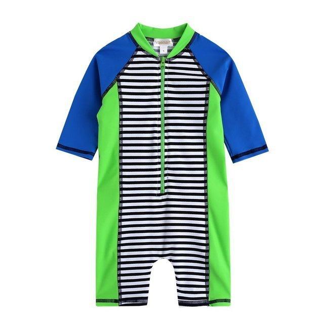 ラッシュガードベービー子ども男の子長袖ワンピース水着,子ども,おすすめ,ラッシュガード