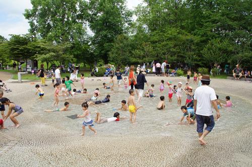 国営みちのく杜の湖畔公園 わらすこひろば,宮城県,川遊び,公園