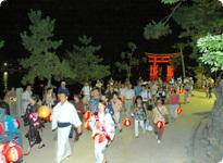 ちょうちん,厳島神社,管弦祭,広島