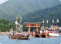 船予約,厳島神社,管弦祭,広島