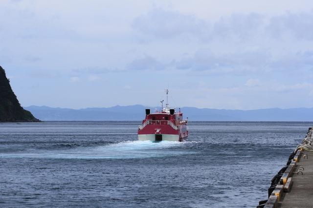 伊豆大島のジェット船,伊豆大島,花火,ジェット