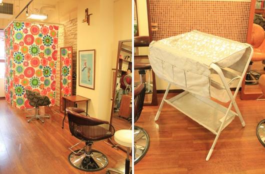 Boucleブ―クル,子連れ,美容院,渋谷